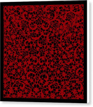 Blood Lace - Canvas Print