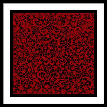 Blood Lace - Framed Print