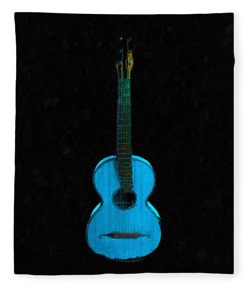 Blue Guitar - Blanket
