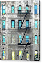 Blue Neighbors - Acrylic Print