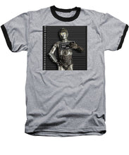 C-3po Mug Shot - Baseball T-Shirt
