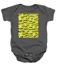 Caution - Baby Onesie