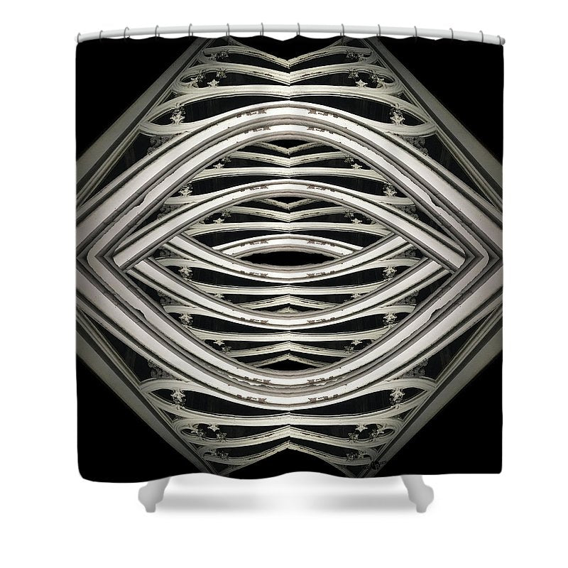 Central Park At Night - Shower Curtain