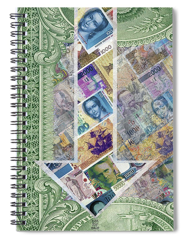 Closely 4 - Spiral Notebook