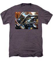 Photo Cold Chrome New York - Men's Premium T-Shirt