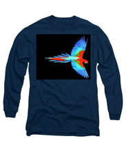 Colorful Parrot In Flight - Long Sleeve T-Shirt