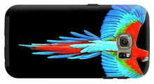 Colorful Parrot In Flight - Phone Case