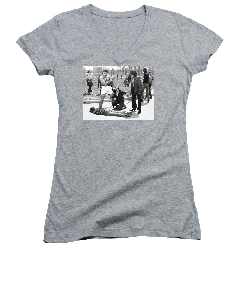 Conscientious Objector - Women's V-Neck (Athletic Fit)
