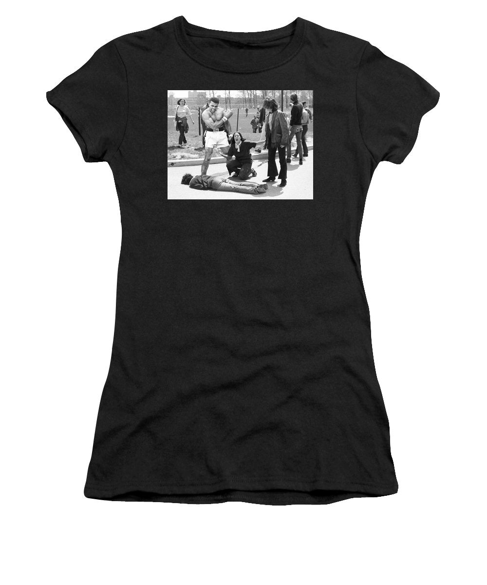 Conscientious Objector - Women's T-Shirt (Athletic Fit)