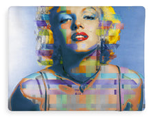 Digital Marilyn Monroe  - Blanket