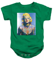 Digital Marilyn Monroe  - Baby Onesie