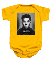 Dustin Hoffman Mug Shot For Film Vertical - Baby Onesie