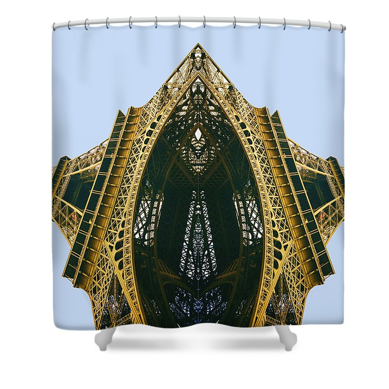 Eiffel Tower - Shower Curtain