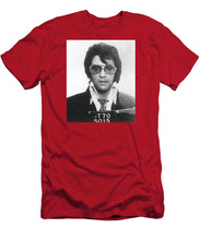 Elvis Presley Mug Shot Vertical - Men's T-Shirt (Athletic Fit)