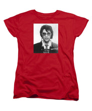Elvis Presley Mug Shot Vertical - Women's T-Shirt (Standard Fit)
