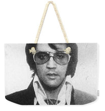 Elvis Presley Mug Shot Vertical - Weekender Tote Bag