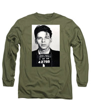 Frank Sinatra Mug Shot Vertical - Long Sleeve T-Shirt