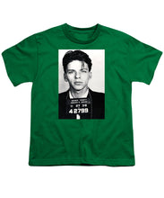 Frank Sinatra Mug Shot Vertical - Youth T-Shirt