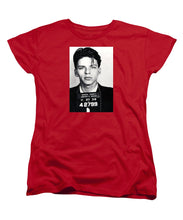 Frank Sinatra Mug Shot Vertical - Women's T-Shirt (Standard Fit)