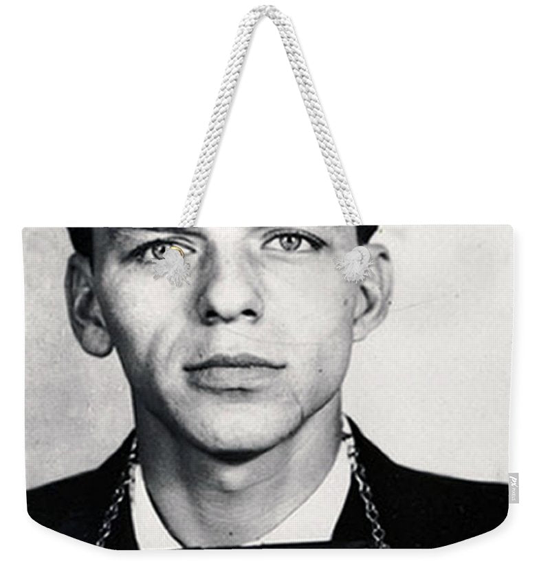 Frank Sinatra Mug Shot Vertical - Weekender Tote Bag