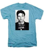 Frank Sinatra Mug Shot Vertical - Men's Premium T-Shirt
