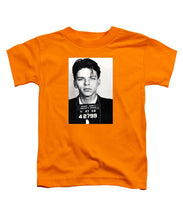 Frank Sinatra Mug Shot Vertical - Toddler T-Shirt