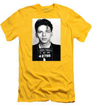 Frank Sinatra Mug Shot Vertical - Men's T-Shirt (Athletic Fit)