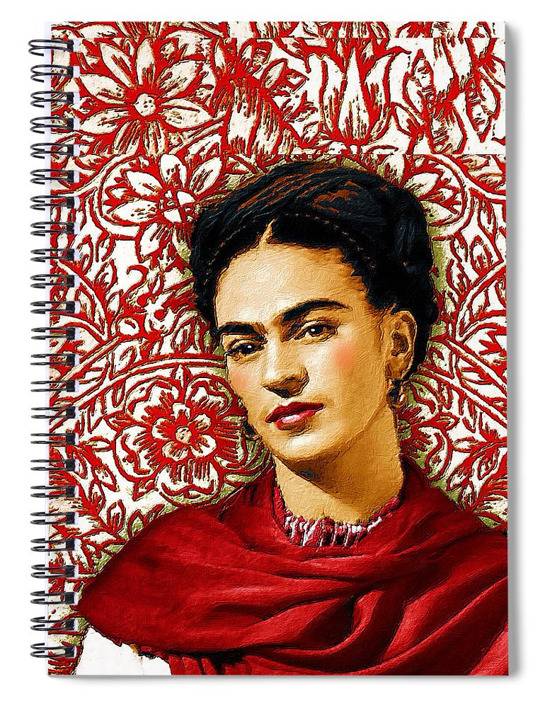 Frida Kahlo 2 - Spiral Notebook