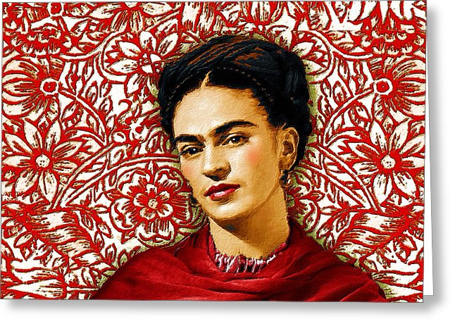Frida Kahlo 2 - Greeting Card
