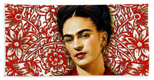 Frida Kahlo 2 - Beach Towel