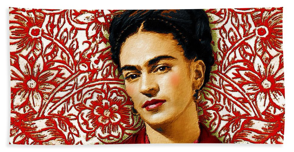 Frida Kahlo 2 - Bath Towel