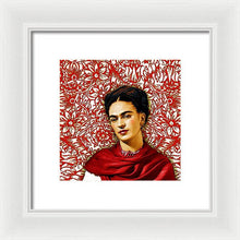 Frida Kahlo 2 - Framed Print