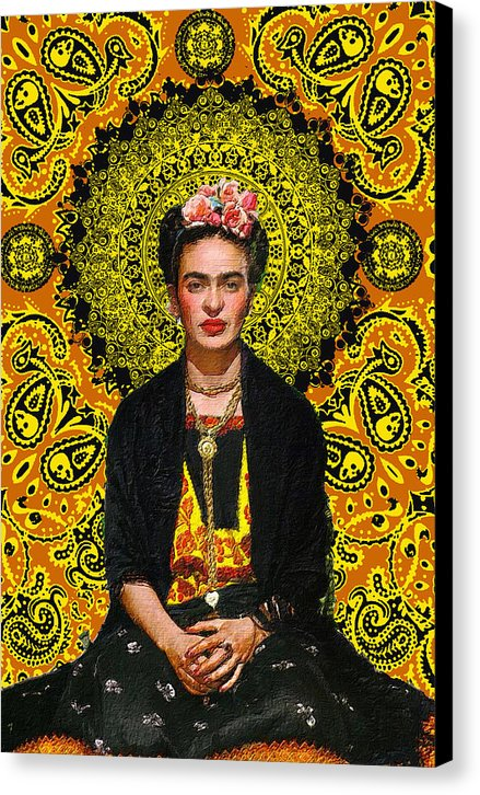 Frida Kahlo 3 - Canvas Print