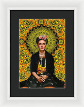 Frida Kahlo 3 - Framed Print
