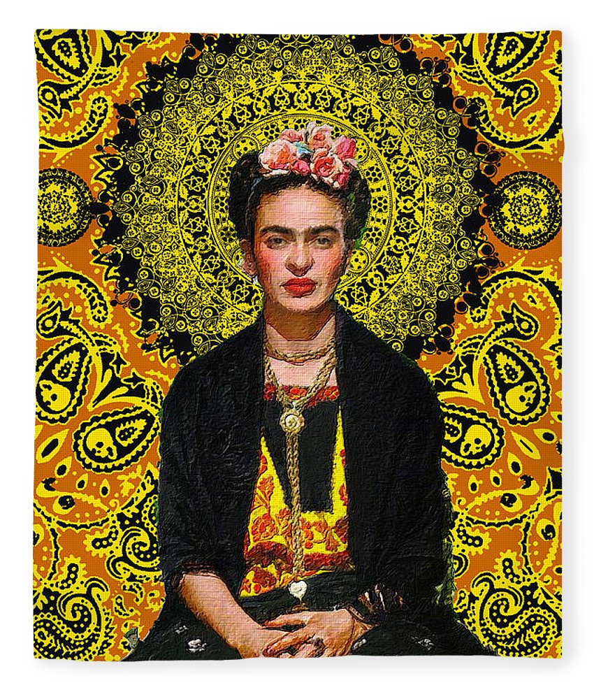 Frida Kahlo 3 - Blanket