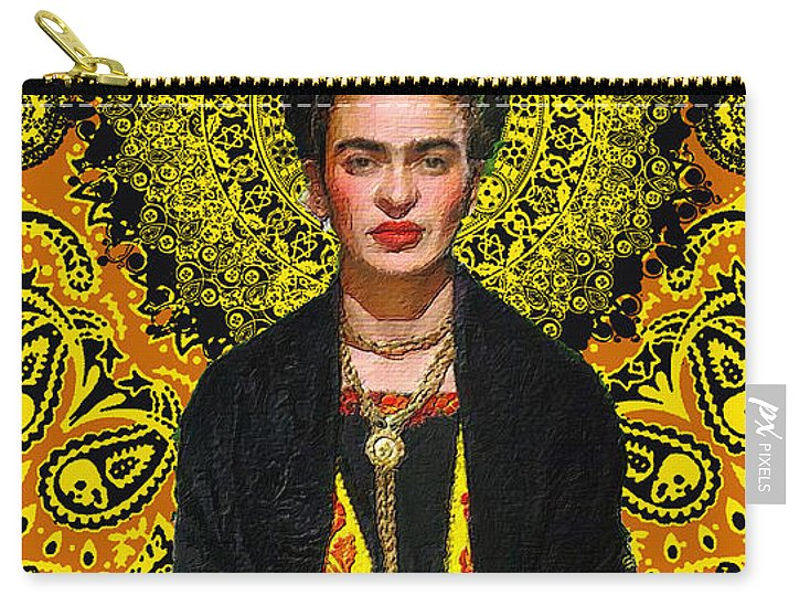 Frida Kahlo 3 - Carry-All Pouch