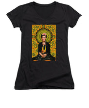 Frida Kahlo 3 - Women's V-Neck (Athletic Fit)