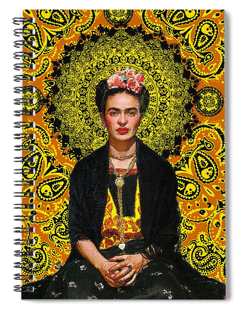 Frida Kahlo 3 - Spiral Notebook