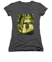 From Above - Women's V-Neck (Athletic Fit)