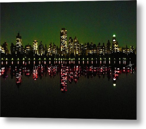 Full Dark - Metal Print