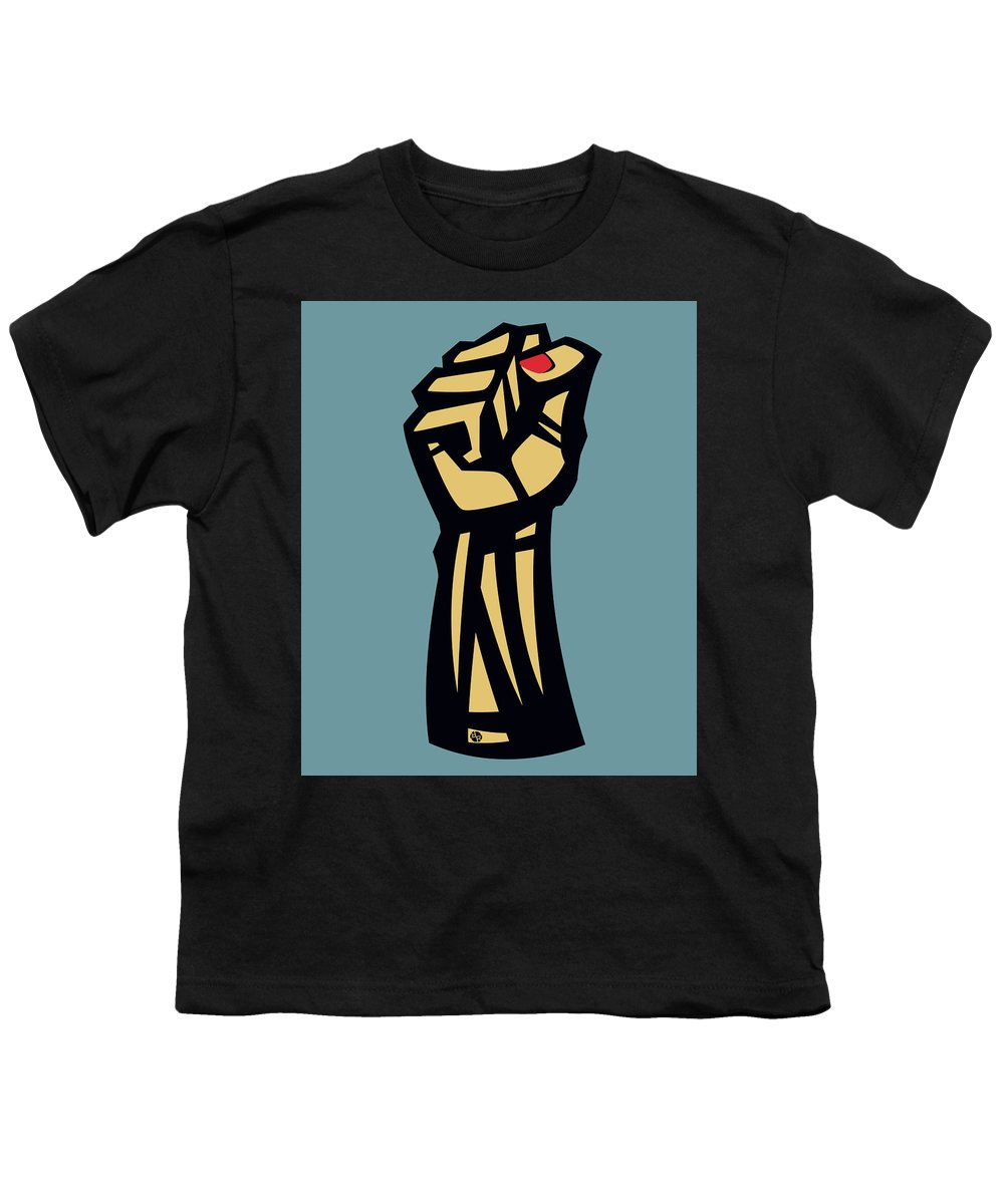 Future Is Female Empower Women Fist - Youth T-Shirt
