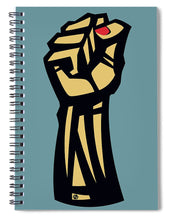 Future Is Female Empower Women Fist - Spiral Notebook