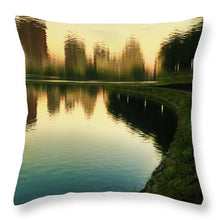 Gently - Throw Pillow
