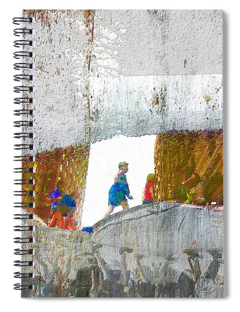 Getting There - Spiral Notebook