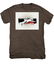 Grunge Background  - Men's Premium T-Shirt