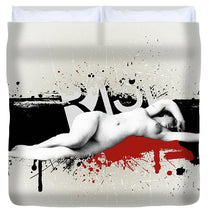 Grunge Background  - Duvet Cover
