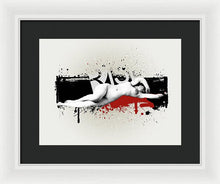 Grunge Background  - Framed Print