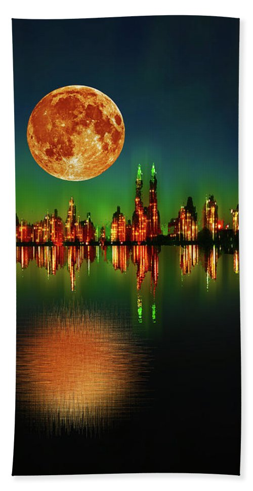 Harvest Moon - Beach Towel
