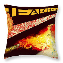 Hear Her Roar - Throw Pillow
