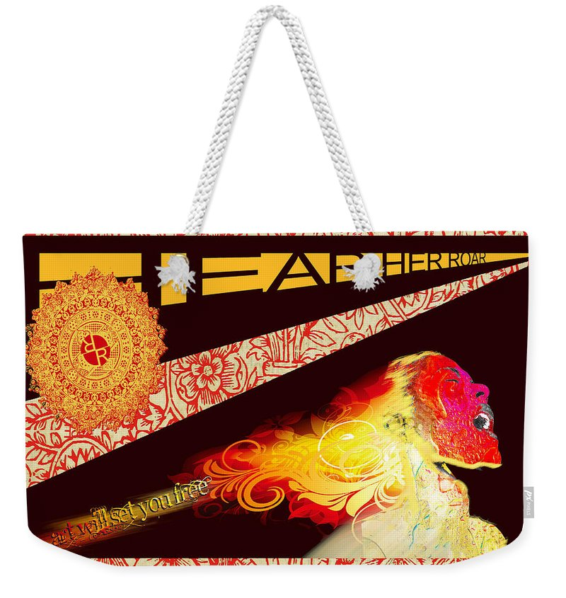 Hear Her Roar - Weekender Tote Bag